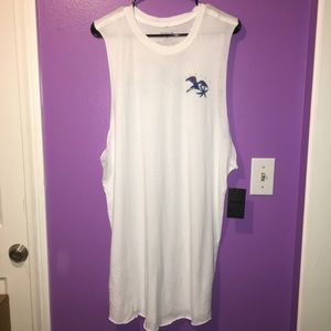 Hurley Fly By Paradise Sleeveless Dress Coverup XL